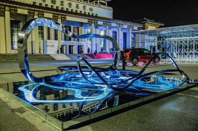 上汽通用参加当代艺术展 艺术与工业相互融合
