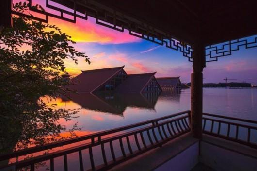 """嘉青松:上海西郊哪一幅""""江南畫卷""""更能打動你"""