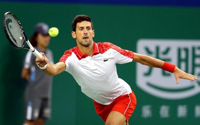 网球——上海大师赛:焦科维奇晋级决赛