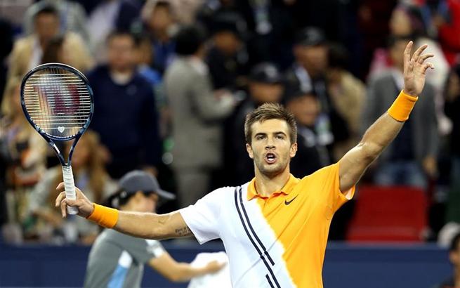 网球——上海大师赛:丘里奇晋级决赛