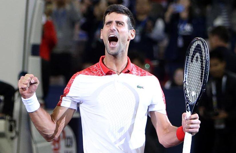 网球——上海大师赛:焦科维奇夺冠