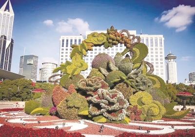 上海绿化市容准备就绪 部分路段可席地而坐