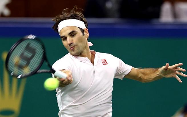 网球——上海大师赛:费德勒无缘决赛
