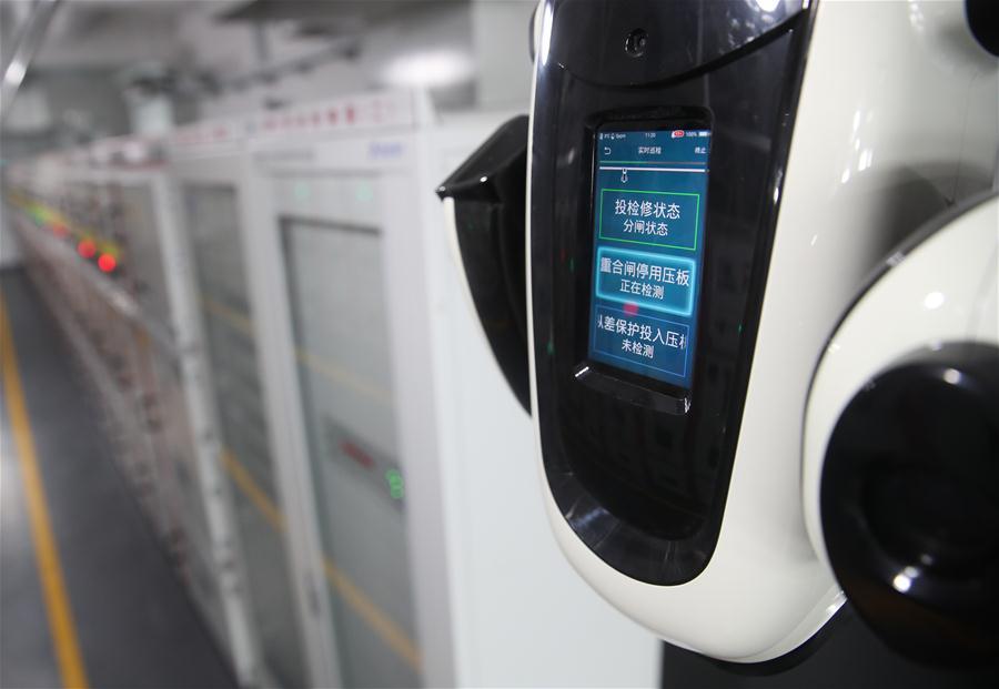 """澳门永利网上娱乐:电力巡检机器人助力""""进博会"""""""