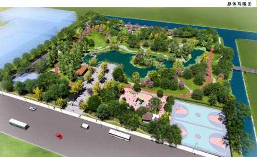 上海宝山庙行公园开始提升改造 明年就将焕新颜