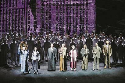 上海歌剧院歌剧《晨钟》首演 致敬革命先驱李大钊