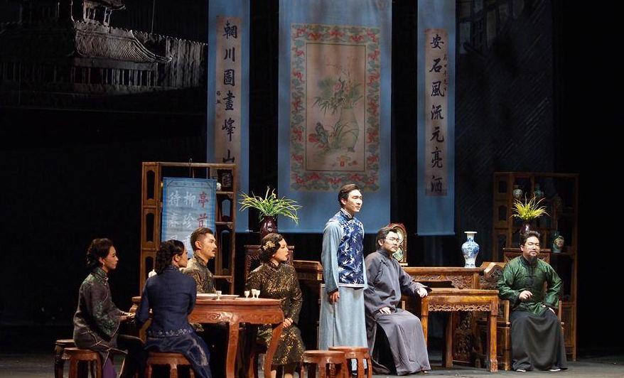 故宫博物院原创话剧《海棠依旧》上演