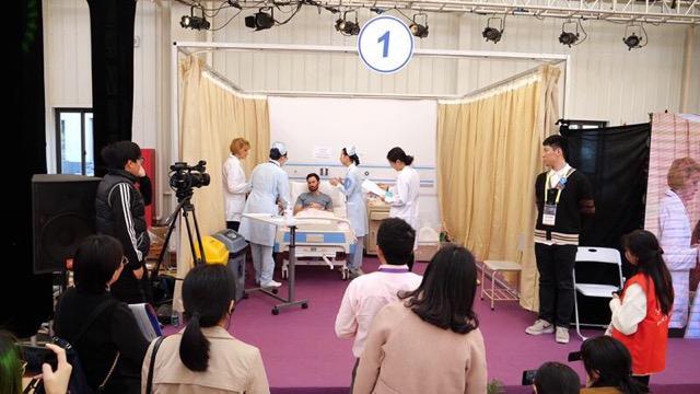 慢病照护 健康促进 上海国际护理技能大赛举行