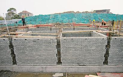 崇明陆续关停区内传统砖瓦厂 大力推广新型建材