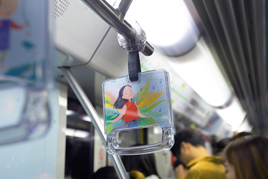 """申城地铁再现中医药文化专列 """"天癸小精灵""""呵护女性健康,传递成长之美"""