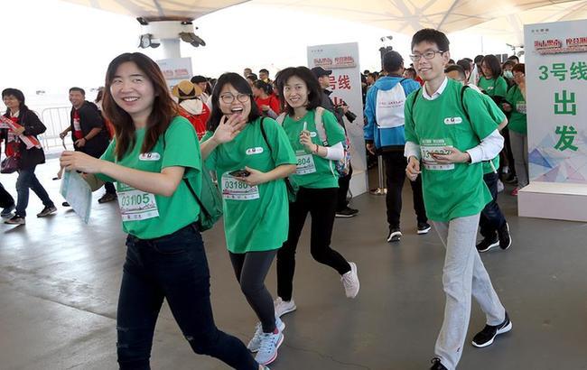 全民健身——2018都会经典修建定向赛在沪举行