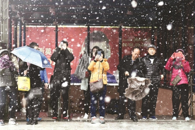 上海今天最低气温将探至冰点