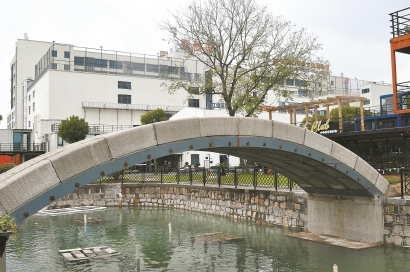 宝山:全球最长3D打印混凝土桥即将投入使用