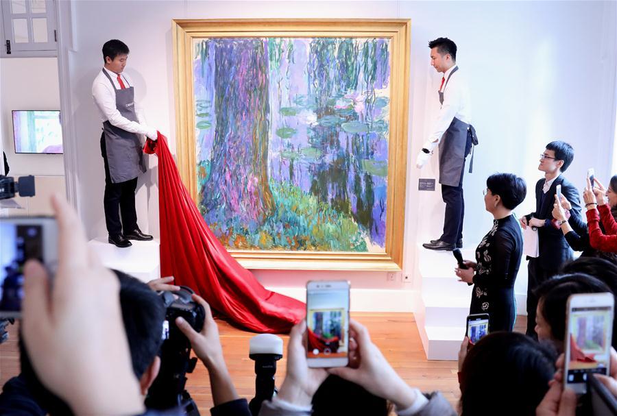 佳士得拍品在上海进行巡展