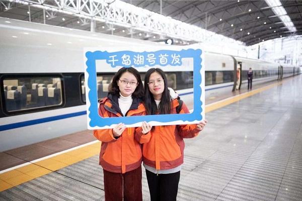 """""""千岛湖号""""高铁旅游专列今晨从上海首发"""
