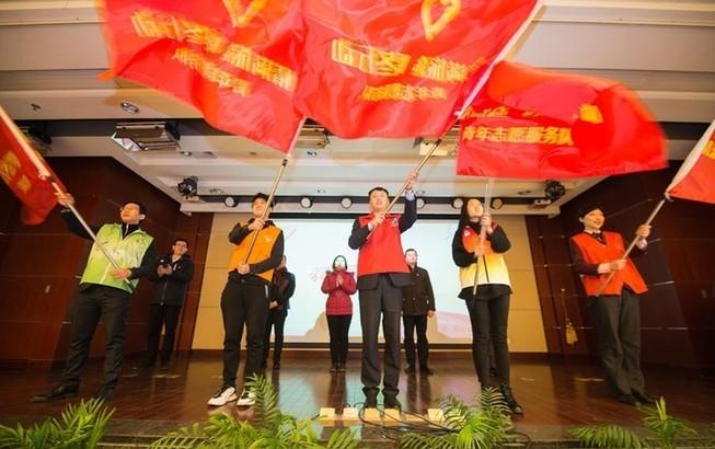 2019年上海春运志愿服务启动