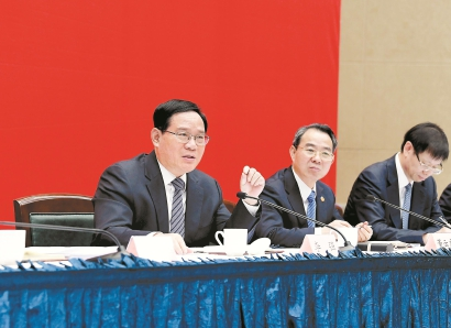 李强:把握重大发展机遇 落实重大战略任务
