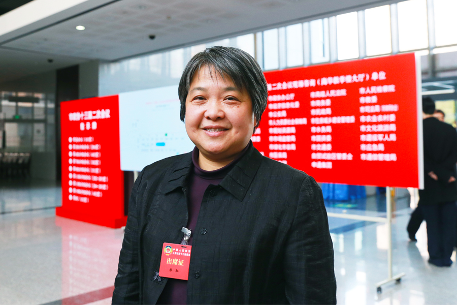 朱红常委:实现河道监管信息化,增加群众参与度