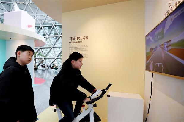 澳门永利网上娱乐科技馆举行猪年生肖特展