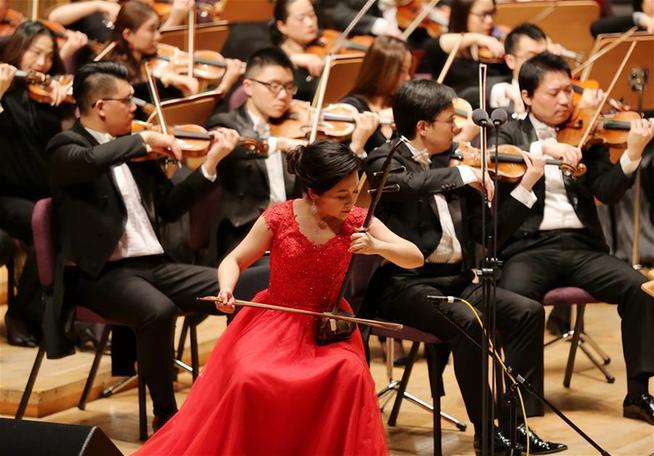 上海交响乐团举行新春音乐会
