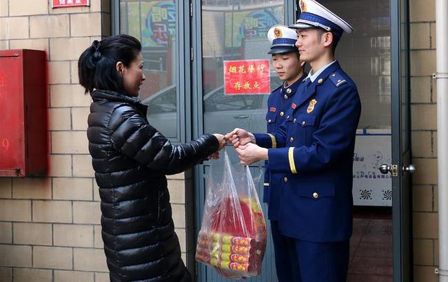 烟花禁燃放 环保清新年