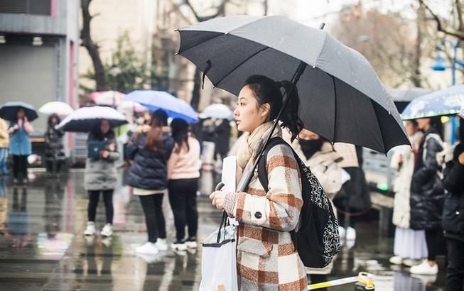 上海艺考,雨中逐梦