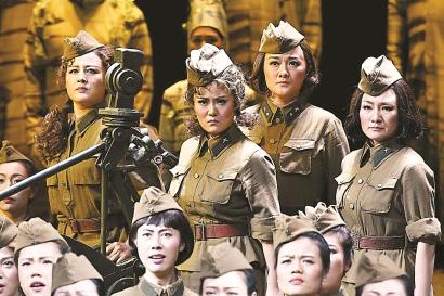 4K歌剧电影《这里的黎明静悄悄》首映