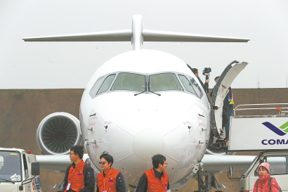 又一架ARJ21交付