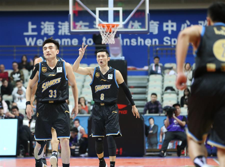 篮球——CBA:上海哔哩哔哩胜时代中国广州