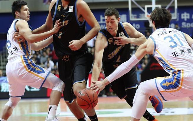 篮球——CBA:上海哔哩哔哩胜福建晋江文旅