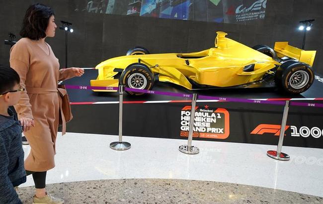上海举行F1一千站大奖赛路演活动
