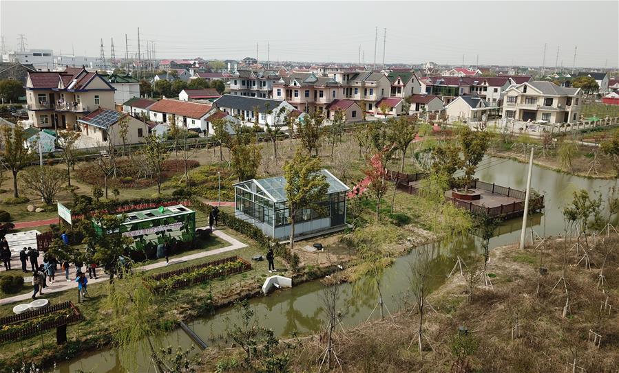 滬郊小集裝箱裏藏玄機 農村生活污水達標排放新方案