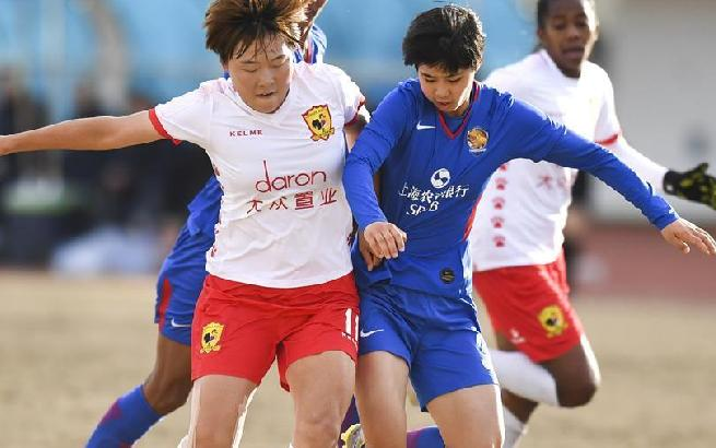 女子足协杯:长春不敌上海