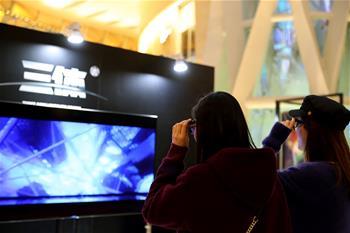 3D科幻舞台剧《三体II:黑暗森林》在沪首演