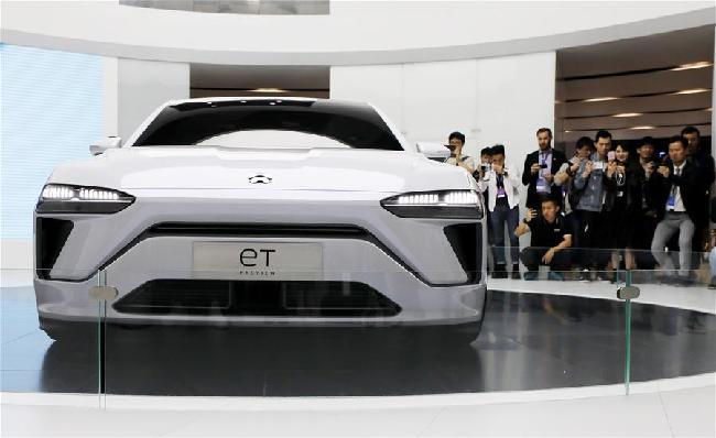 上海車展:新能源車勢頭旺