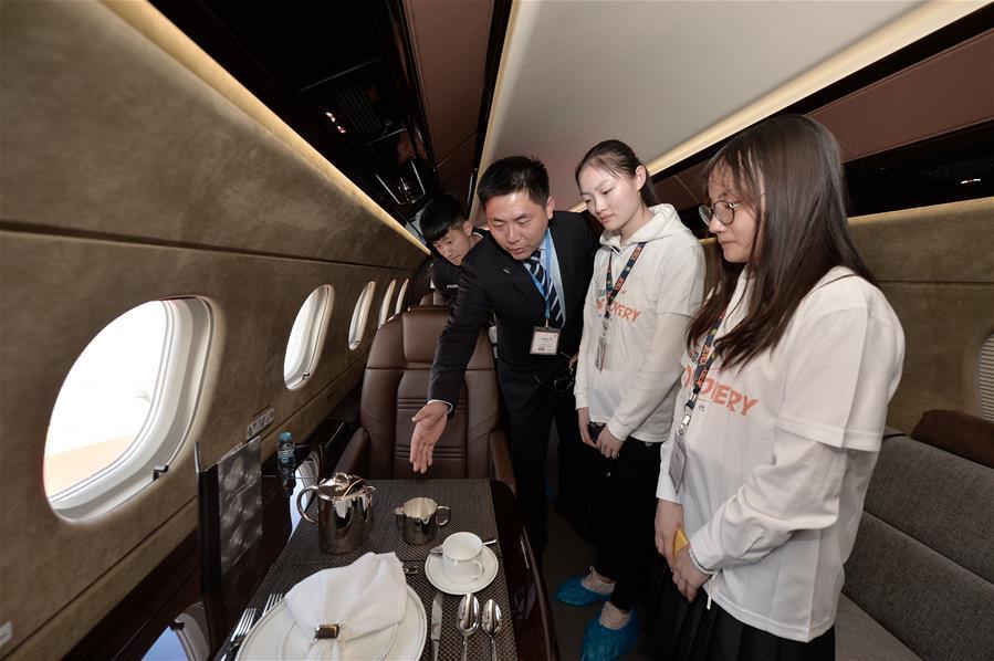 """第八届亚洲商务航空大会及展览会举行""""职业发展日""""活动"""