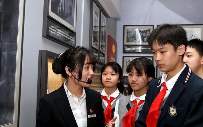 上海:青春心向黨 建功新時代