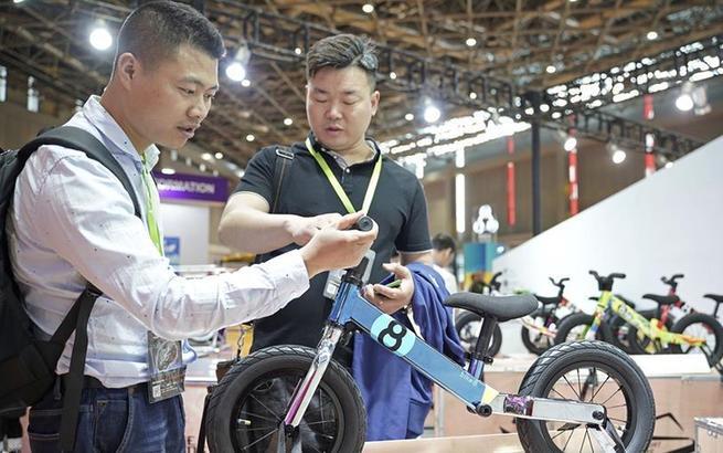 第29届中国国际自行车展览会在沪开幕