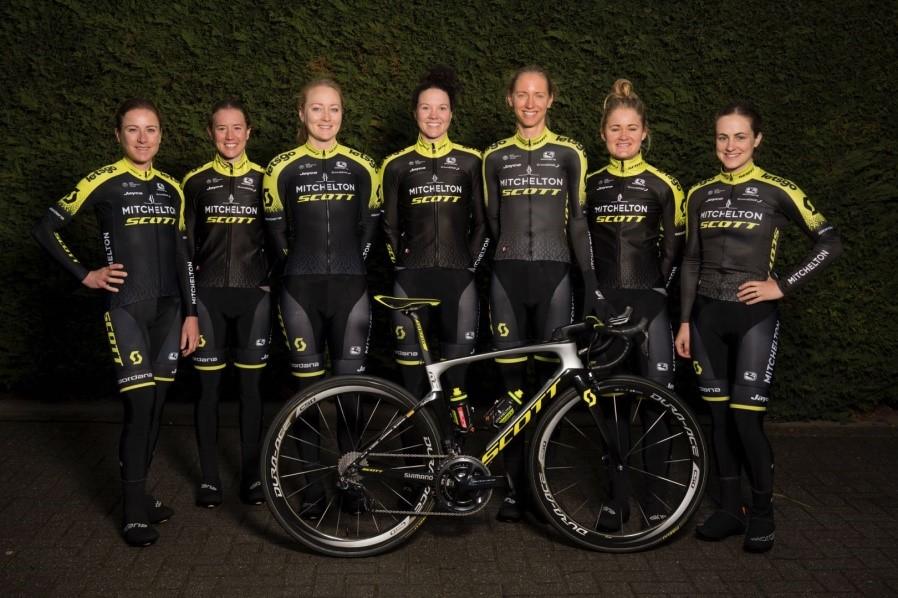 澳大利亚米其尔顿斯科特女子职业自行车队