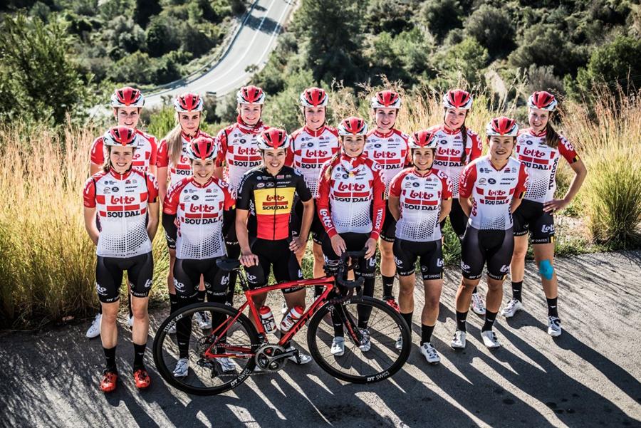 比利时乐透-速的奥女子职业自行车队