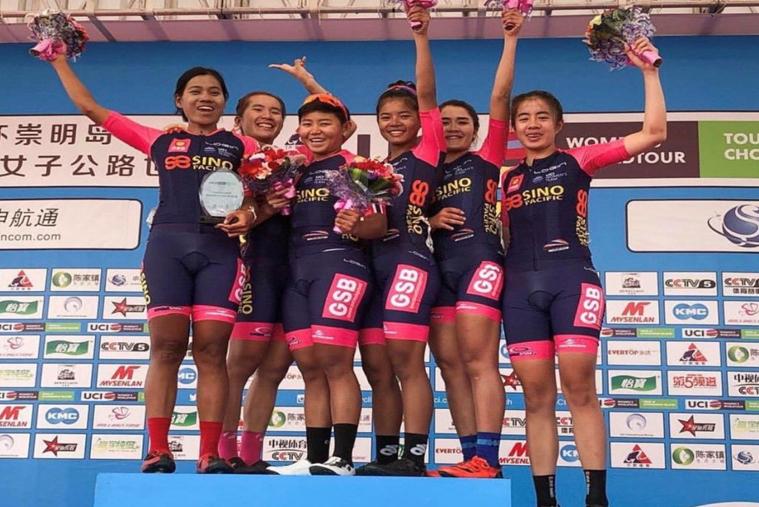 泰国女子职业自行车队