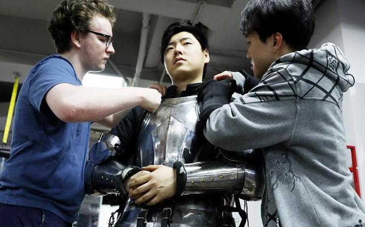 中国勇士全力备战 出征世界全甲格斗大赛