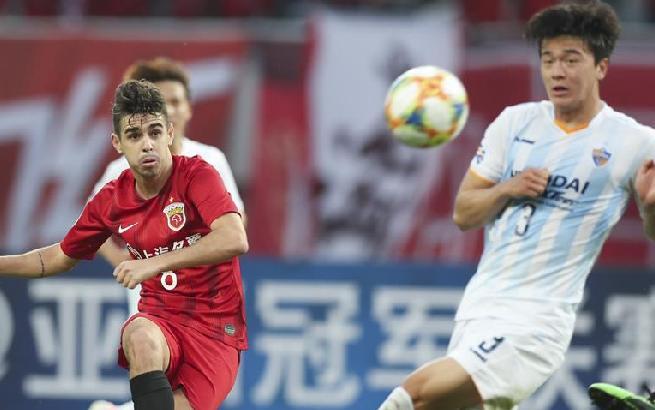 足球——亚冠:上海上港胜蔚山现代