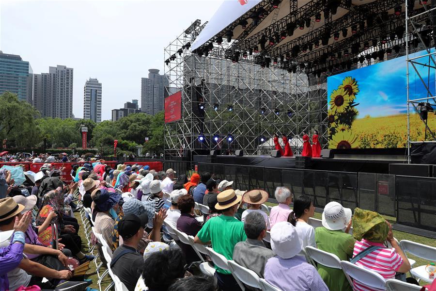 第十二届中国艺术节公益惠民户外演出拉开序幕