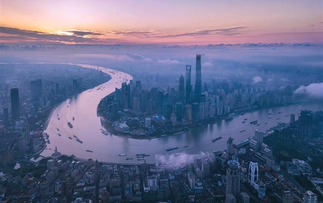 上海,你怎么这么好看!