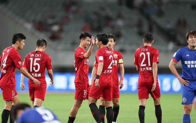 足球——足协杯:上海上港胜长春百和嘉路喜