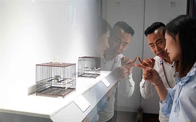 上海非遗精品联展6日在沪开幕