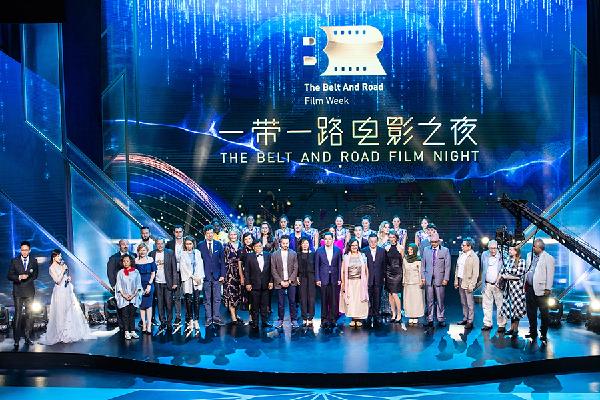 """上海电影节:电影之夜见证""""一带一路""""电影周圆满落幕"""
