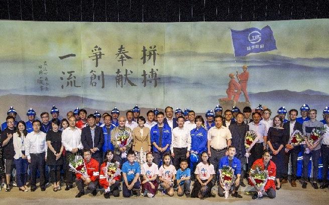 話劇《大風有隧》開演 講述上海隧道人初心和使命