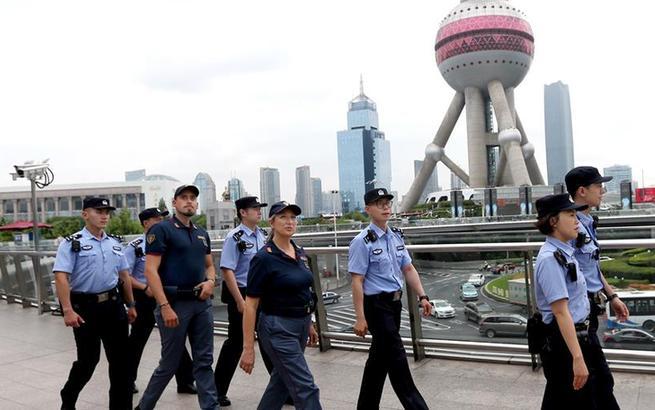 中意警方启动在上海警务联合巡逻